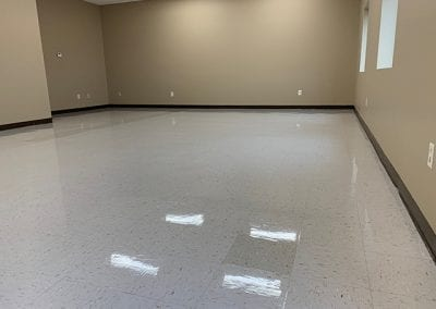 Commercial Cleaning Floor Buffing